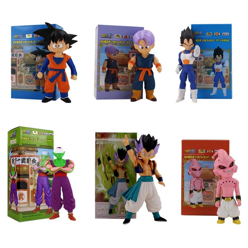 Dragon Ball Z Figure Toys DX Son Goku Goten Trunks Vegeta Buu Gotenks Piccollo Anime Model DollsDragon Ball Z Figure Toys DX Son Goku Goten Trunks Vegeta Buu Gotenks Piccollo Anime Model Dolls