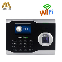 Biometric Time Attendance Machine ZK U100 Linux System Fingerprint Time Clock With WIFI Communication
