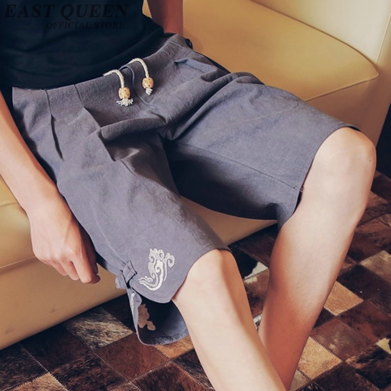 Trousers traditional chinese clothing for women online chinese store solid men pants elastic waist casual men pants AA3881 Y A