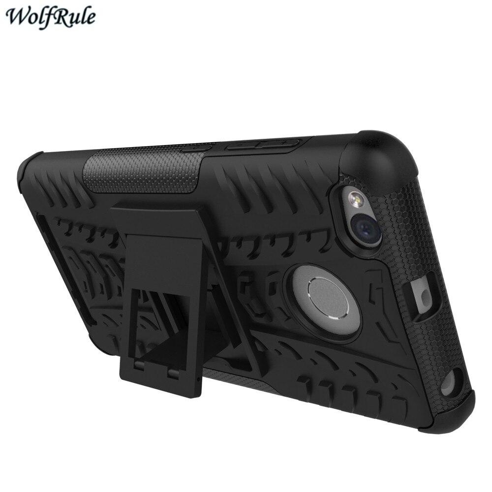WolfRule para la cubierta Xiaomi Redmi 3s Funda TPU y soporte de - Accesorios y repuestos para celulares - foto 2