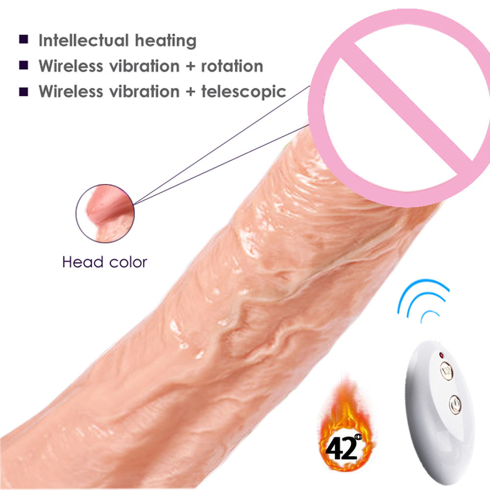 Realistic Penis Artificial Suction Cup, Multi Speed Vibrating Rotating Dildos, Big Rubber Dick Sex Products Sex toys for Woman thierry super realistic dildo suction cup male artificial penis large flexible dick sex toys for woman adult masturbator dildos