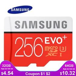 SAMSUNG Speicher Karte Micro SD 256 GB 32 GB 64 GB 128 GB 512G SDHC SDXC Grade EVO + klasse 10 C10 UHS TF SD Karten Trans Flash Microsd