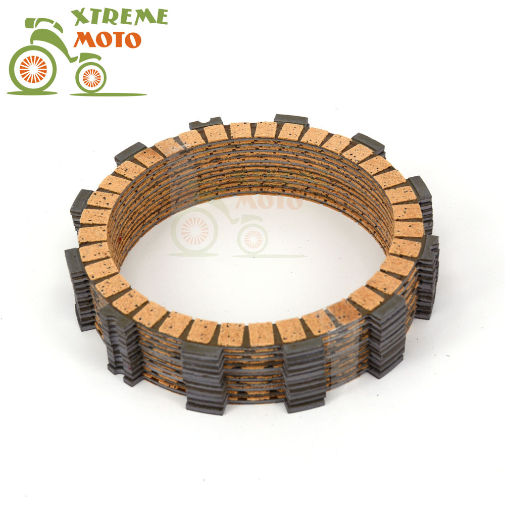 Motorcycle Clutch Disc Friction Plates Set 11pcs for DUCATI Diavel 2013-2016 Monster1000 Evo 2013-2014 Multistrada 2013-2016 стоимость