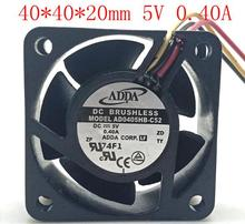ADDA 4cm 40205V 0 40A AD0405HB C52 Three wire Double Ball High Speed RD Fan Switch