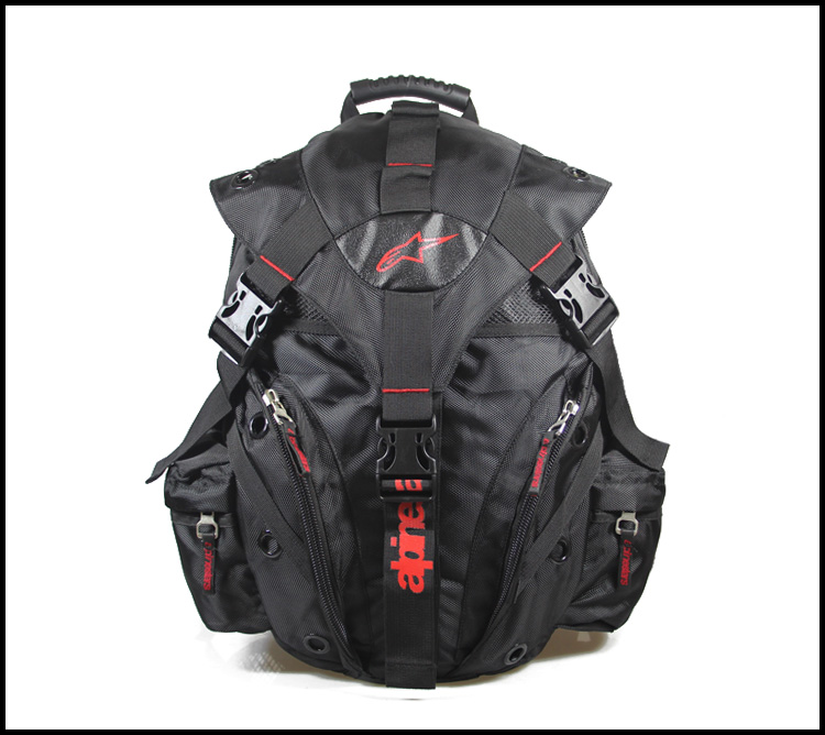 Professional Motorcycle Backpacks Waterproof Nylon Multi-functional Backpacks Motorcycle Helmet Can Put In The Backpack
