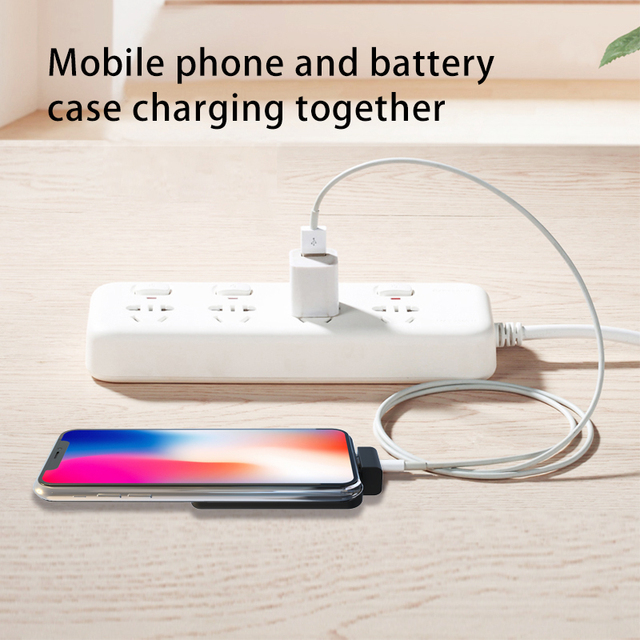 2800mAh Battery Case For iPhone 8/7/6(s), Portable Power Bank 5