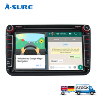 A Sure 8 2017 Android 6 0 Car DVD Player For Volkswagen VW Tiguan Polo Golf