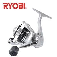 Original Ryobi Fishing Gear Spinning Reel 3+1BB Series 500 800 Fishing Reel Boat Rock Fishing Wheel Long casting Reels