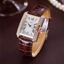 2017 Rectangle Women Watches Top Brand Luxury Famous Ladies Wristwatch Women's Quartz Wrist Watch Female Clock Relogio Feminino
