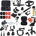 Accessories Gopro Hero3 36 in 1 Family Kit Go Pro accessories set with Large case for GoPro Hero 4 3+ 3 SJCAM xiaomi yi 4k