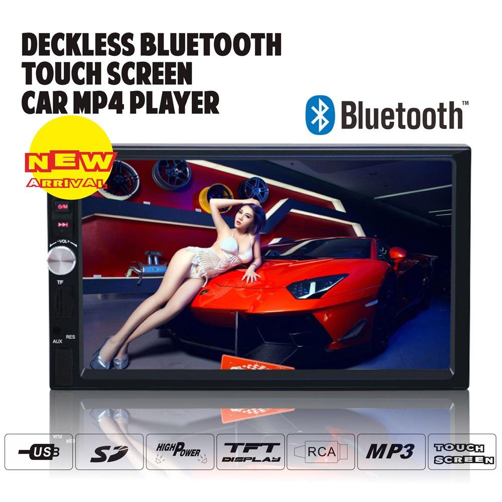Тире 2din автомагнитолы MP4 MP5 MP3 плеер Bluetooth ресивер с Hands Free дистанционный контроль TFT сенсорный экран