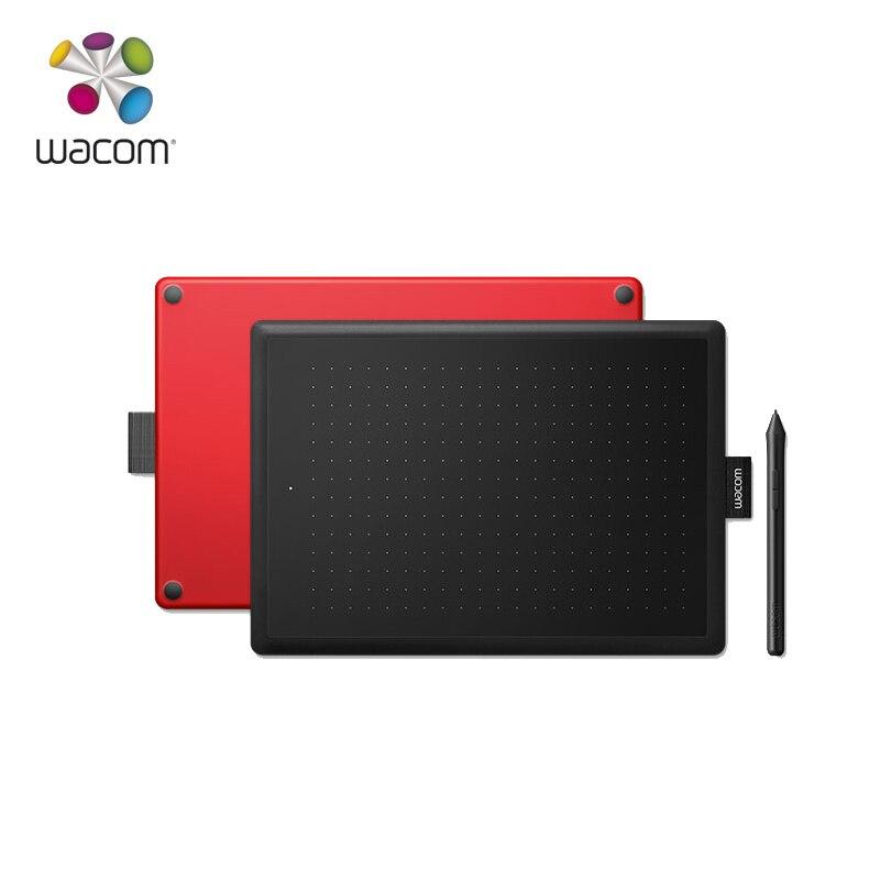 One by Wacom CTL-472 tablette de dessin graphique tablettes numériques 2048 niveaux de présuresse (petite taille)