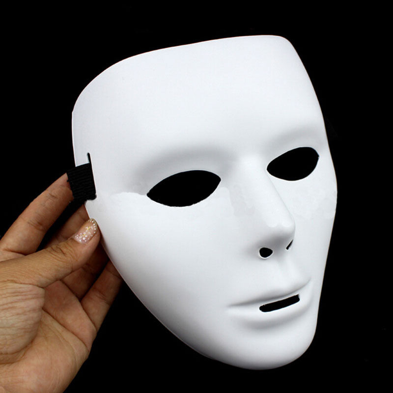 Hot 1 pcs Fashion Hip Hop Dance masquerade anonymous unique Mask Face Party Halloween  masks for parties 2019-in Party Masks from Home   Garden on ... 785f2919e51e