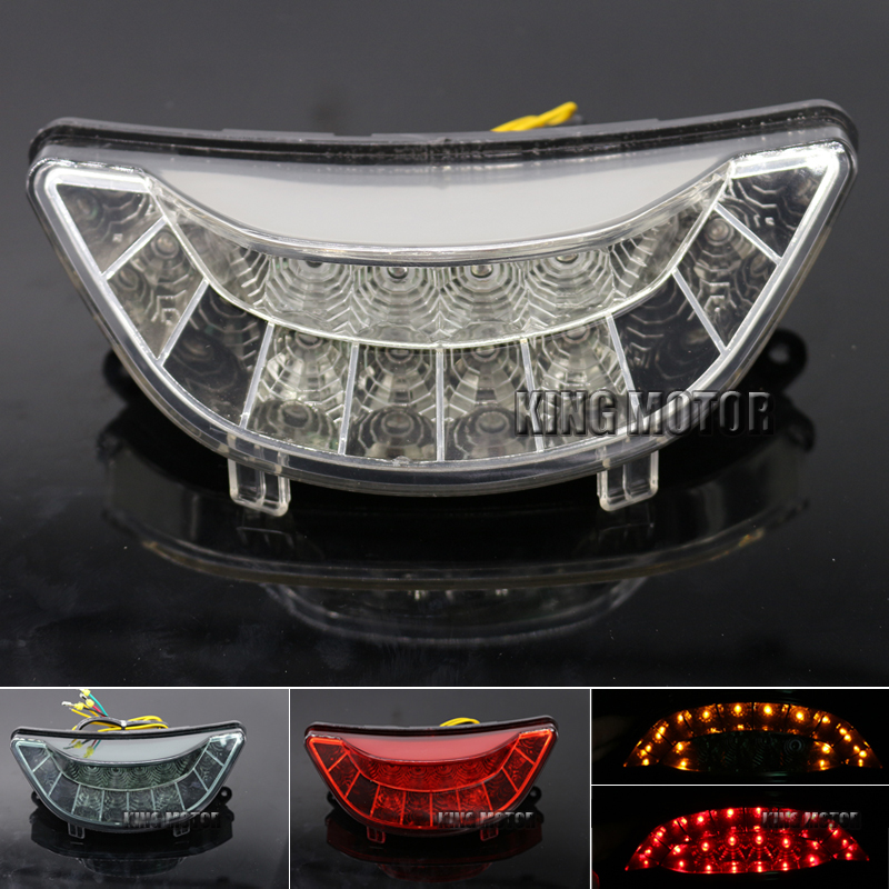 For YAMAHA V-MAX 1700 2009-2013 Motorcycle Accessories Integrated LED Tail Light Turn signal Blinker Clear for yamaha mt01 mt03 mt07 mt09 motorcycle accessories blinker led turn signal indicator light clear