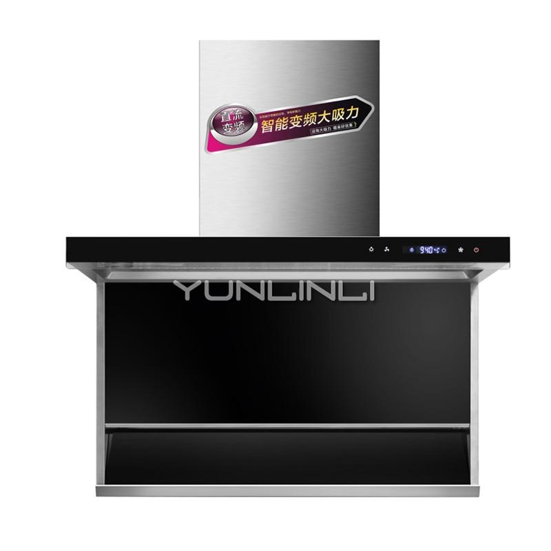 355W Large Suction Range Hood Household Kitchen Ventilator Smoke Exhaust Ventilator CXW-238-70H