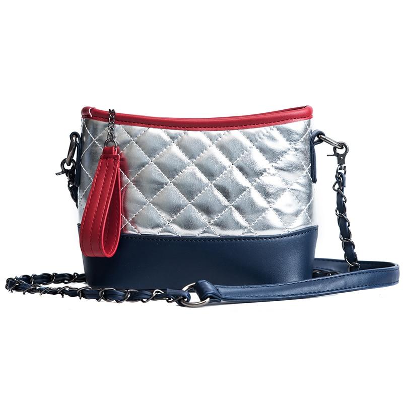 NEW HOT 2018 Fashion Ling Grain leather bag Women