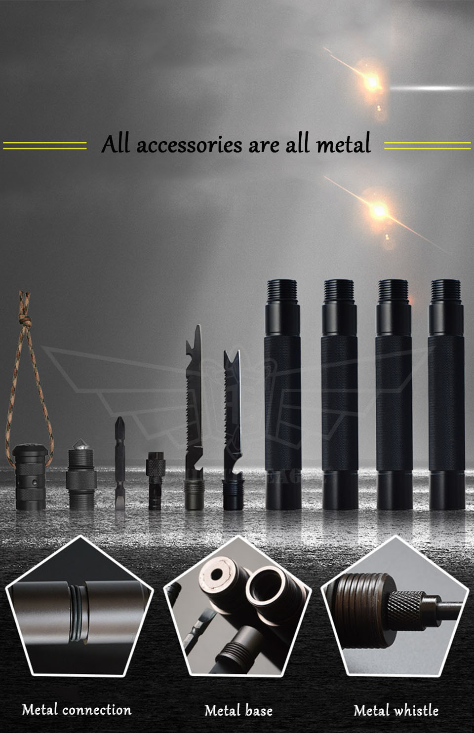 ferramentas dobráveis bengalas