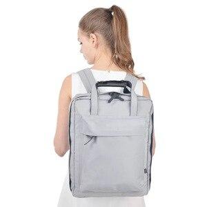 Image 1 - حقيبة سفر بسعة كبيرة للأمتعة منظم التعبئة للرجال والنساء حقيبة يد محمولة مضادة للماء حقيبة أمتعة