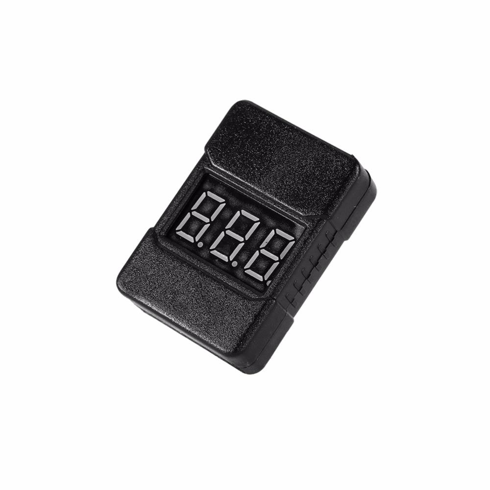 New BX100 1 8S Lipo font b Battery b font Voltage Tester Low Voltage Buzzer Alarm