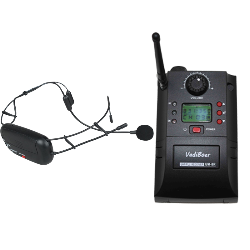 Free Shipping,Earobe Airline UHF Wireless headset transmitter wireless microphone , OK-16 receiver sets Samson AirLine