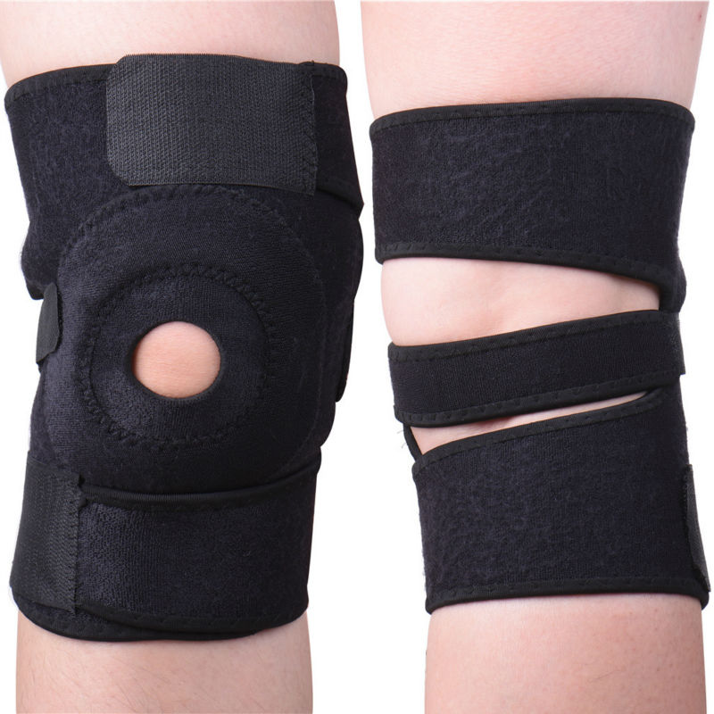 Knee Support Open Patella Sleeve Ligament Brace Knee Pad Kneepad Sport Protector Outdoor sports kneepad Tool
