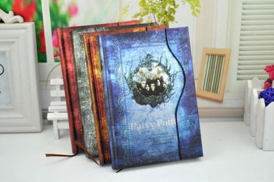 Magic note book cute fashion movie theme magic notebook Cosplay notebook new school big writing journal school supplies.