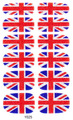 Маникюр Декор Блеск Фольги Наклейки Клей Nail Art Наклейки ВЕЛИКОБРИТАНИЯ Британский флаг Дизайн Полное Покрытие Обертывания Наклейки Для Ногтей