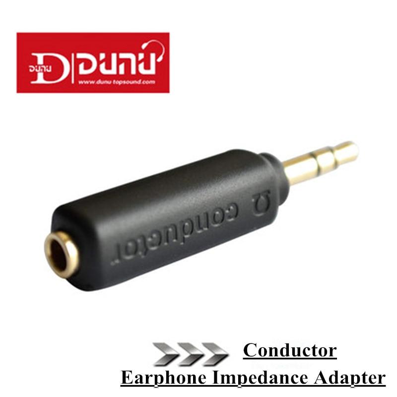 Earphone Impedance Plug Original Dunu Conductor 75/150/200 ohm Noise Cancelling adapter 3.5mm Jack for Hifi Player Music Plug.