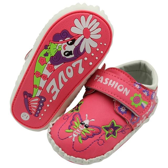CNOHEHOK Primera Caminantes Niñas zapatos de Bebé de Cuero Genuino de LA PU de interior zapatos antideslizantes Del Niño Del Bebé mocasines con cordones infantil Zapatos de bebé