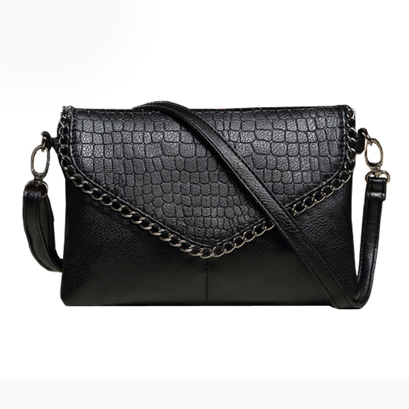 New Fashion Small Bag Women Messenger Bags Soft PU Leather Crossbody Bag For Women Clutches big 27*18*5CM/small 22*15*5CM big fashion women messenger bags soft pu black leather handbags crossbody bag for women girl summer clutches envelope small bag