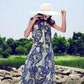 Moda Verano Acogedor Mujeres Bowknot de Ala Ancha Playa Del Sombrero Del Sol de Las Señoras de Vacaciones Casquillo de la Paja