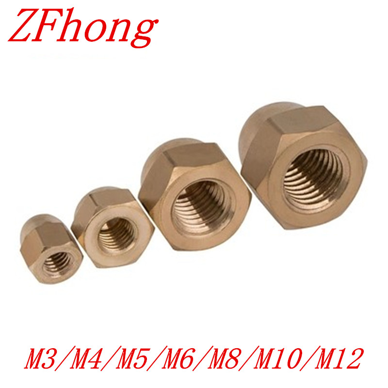 CAGIVA MOTORCYCLE M4 M5 M6 M8 M10 STAINLESS STEEL DOME NUTS CHOOSE YOUR SIZE