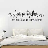 Креативная Настенная Наклейка с надписью «Love», современная модная Настенная Наклейка для детской комнаты, гостиной, домашнего декора, креа...