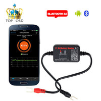 QUICKLYNKS Battery Monitor BM2 On Phone APP Bluetooth 4 0 Device All Car 12V Battery Tester
