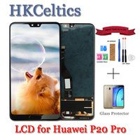 6.1inch display for Huawei P20 Pro LCD Display Screen Tested Touch Panel Digitizer Assembly P20 Pro CLT AL01 Lcd P20 Plus lcds