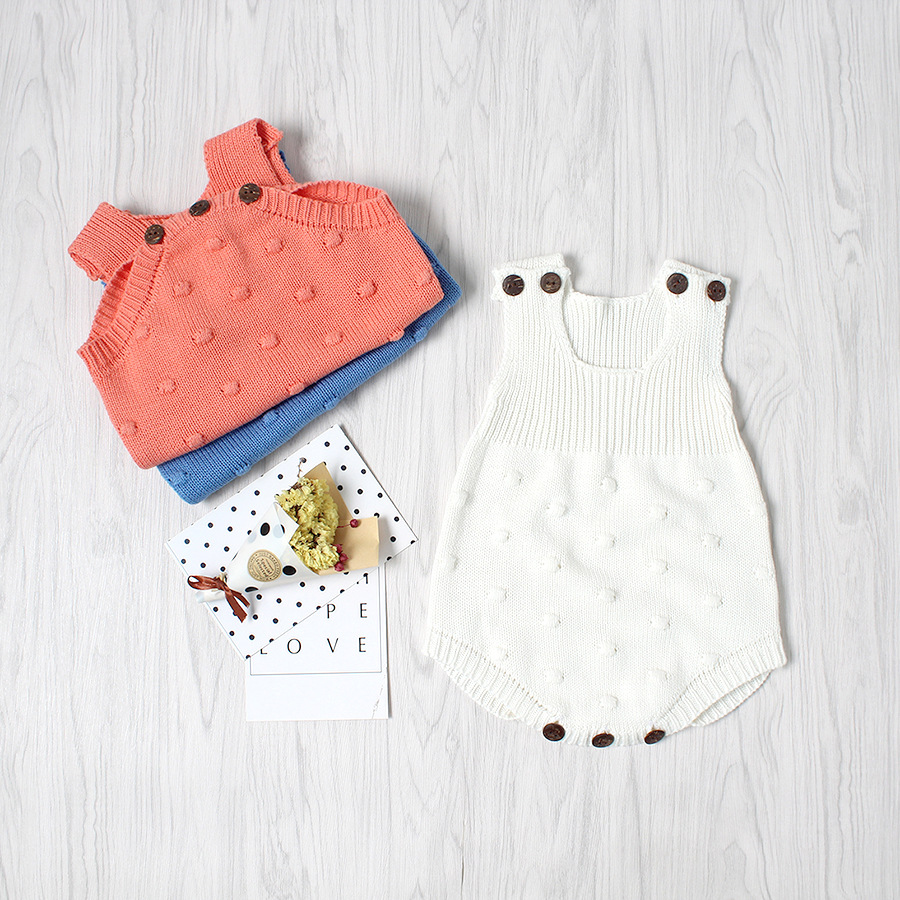 BeiLei Creations Baby Girls Rompers Cotton Newborn Infants Sweaters ...
