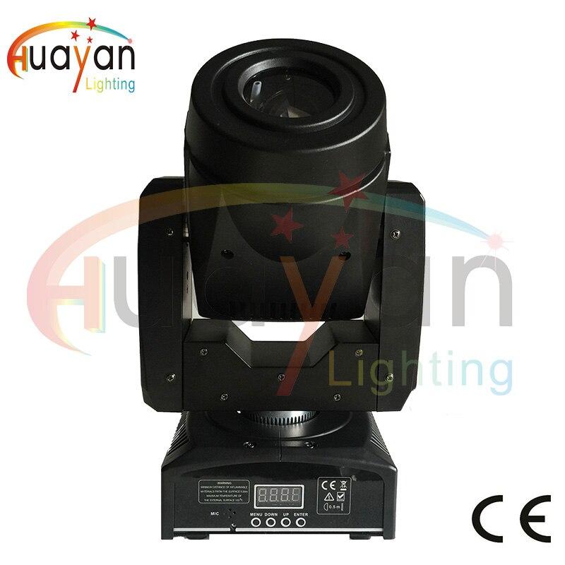 Mini Spot 60 W LED Lyre lumière principale mobile avec plaque Gobos et plaque de couleur, haute luminosité 60 W Mini LED lumière principale mobile DMX512