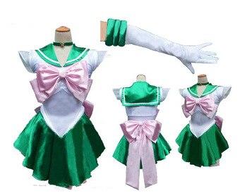 Pretty Guardian Sailor Moon Japanese Cartoon Movie Cosplay Girl Mercury Moon Mars Dress Pretty Soldier Sailor Moon 5