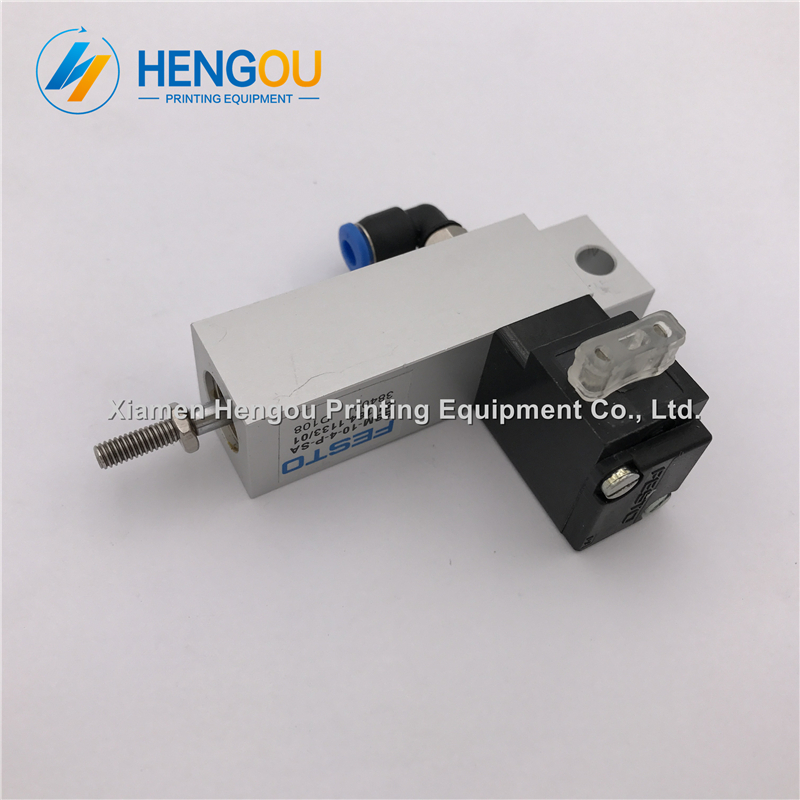 1 piece free shipping ESM-10-4-P-SA cylinder valve for Heidelberg SM74 PM74 SM52 PM52 61.184.1133