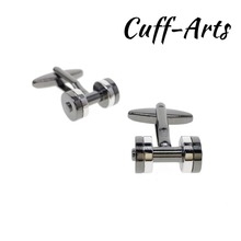 Cufflinks for Men Weight Lifters Mens Cuff Jewelery Gifts Vintage by Cuffarts C10300