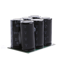 Condensador Faradio 2.7 V 120F 6 Unids OOTDTY Condensador de alto rendimiento Con la Junta de Protección Nueva