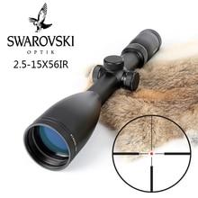 Imitation Swarovskl 2.5-15×56 IRZ3 F15 de Tir Red Dot Réticule Fusil de Chasse Champs A Fait En Chine