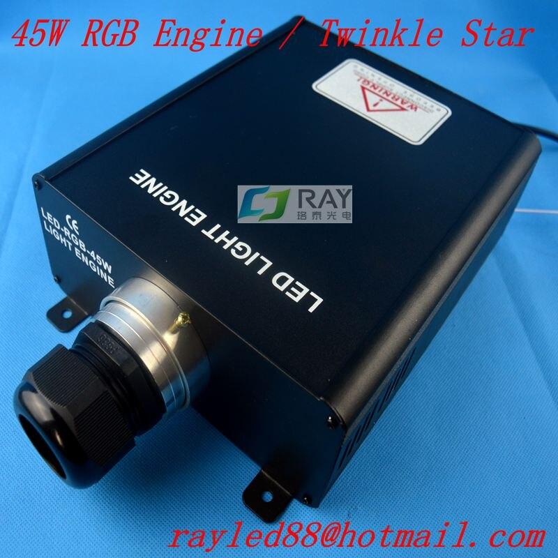 New! 45w,RGB twinke star ,with remote control,LED fiber engine/machine