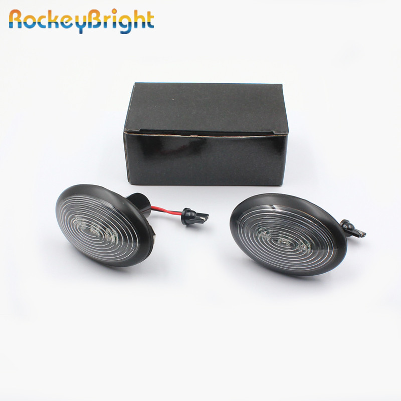 Rockeybright amber 12v led side marker light lamp for bmw mini cooper R56 R55 R57 R58 R59 car fender signal light side marker bosch bbz123fgi
