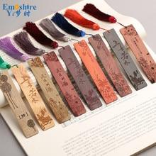 Bookmark gỗ Tùy Chỉnh Quà Tặng Kinh Doanh Trung Quốc Bookmarks Gỗ Retro Creative Món Quà Tốt Nghiệp Gỗ Gụ Bookmarks M020