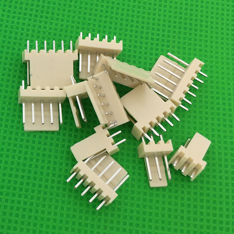 50pcs male material KF2510 Connector Leads pin Header 2.54mm connector KF2510-A Free shipping 50pcs lot kf2510 kf2510 4y female connector housing 2 54mm 4pin free shipping