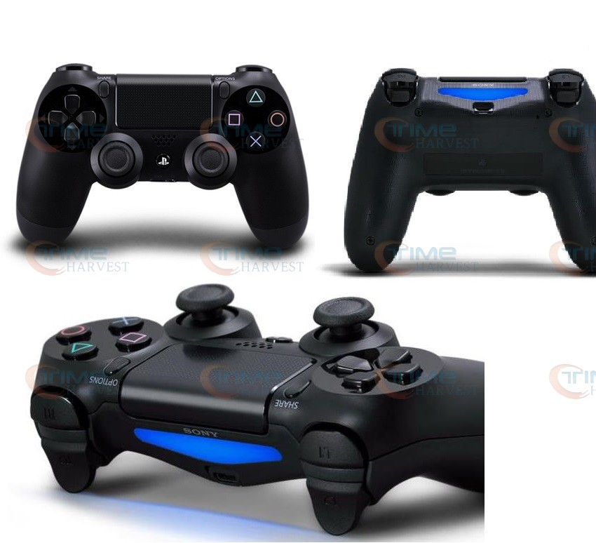 Wireless original Dualshock 4 controller Body feeling handle black controller Good Quality Bluetooth Shock Game joypad for P4