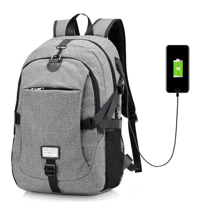 17 Inch Women Shoulder Bag Electric USB Stick Bag Men Travel Backpacks Leisure Laptop Bag Security Business Anti theft Backpack Сумка