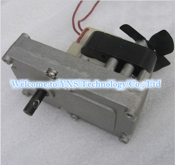 120FH-1.5 220V 1.5 rpm/min One Way Gear Motor synchronous motor W Shaded Pole Under Super Low Rate ac motor for Fireplace