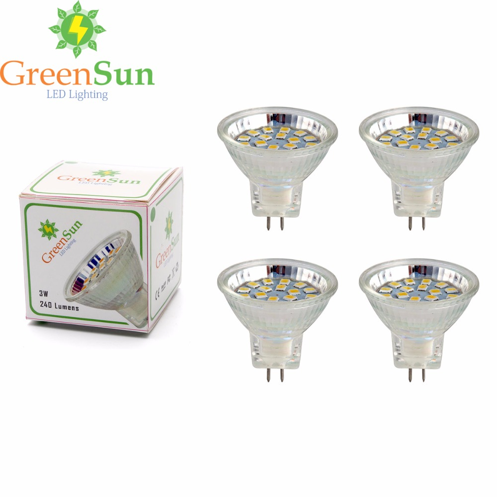 4Pcs Set 3W 5W MR11 Led Spotlight GU4 LED Bulb 2835 SMD Lamp Energy Saving Spot Light Bulb Cool/Warm White AC/DC 12-30V